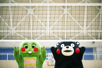 「ガチャピンくまモンの熊本すごか写真展」では約50点の写真が展示される
