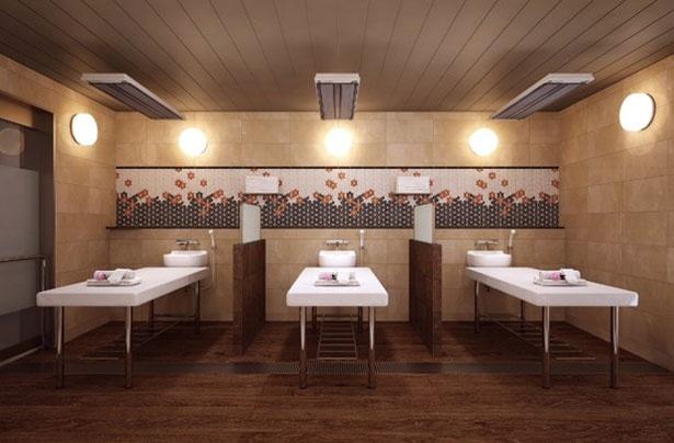弁天湯町内にあるサウナ高熱房などで、さらなる癒しを体験しよう/空庭温泉 OSAKA BAY TOWER