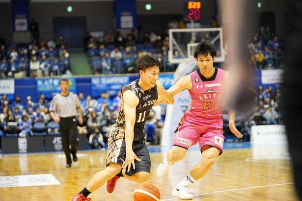 シーズン途中に加入した熊谷選手は、まだ22歳!