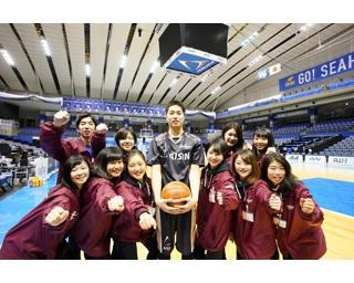 SKE48高柳明音のびっくりパフォーマンスに女性限定サービス!?イベント満載のシーホース三河戦のチケットをプレゼント!