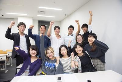 新宿線チームの学生たち