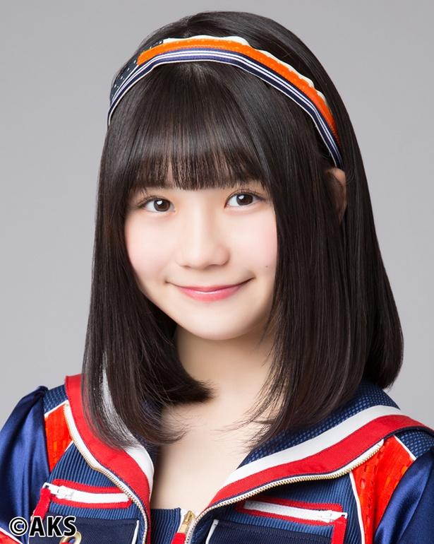 SKE48からの卒業を発表した小畑優奈