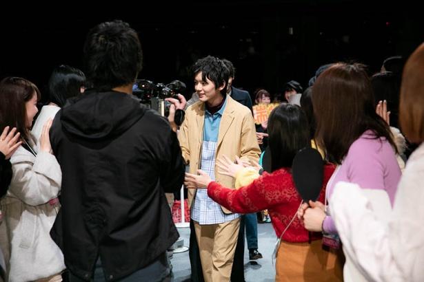 「1ページの恋」バレンタイン直前イベントより(C)AbemaTV