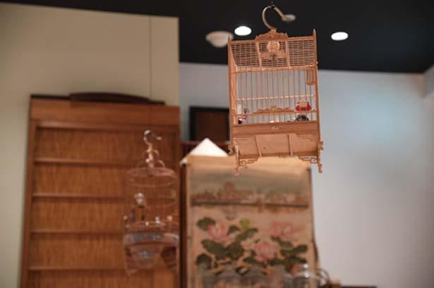 家具や雑貨もほとんどがベトナムから取り寄せたもの/ベトナム料理 インドシナ