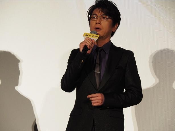 周囲の強キャラに振り回される平凡な課長を演じた及川光博