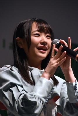 石田千穂さん STU48 2ndシングル「風を待つ」リリースイベントより