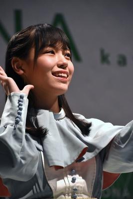 岩田陽菜さん STU48 2ndシングル「風を待つ」リリースイベントより