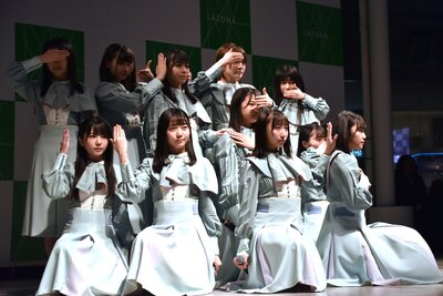 STU48 2ndシングル「風を待つ」リリースイベントより