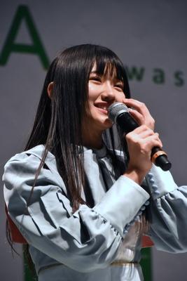門脇実優菜さん STU48 2ndシングル「風を待つ」リリースイベントより