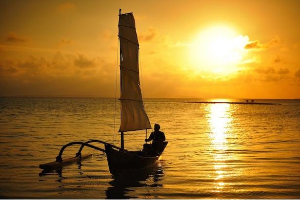 星のや竹富島 / 「サンゴ砂の島夕日ツアー」