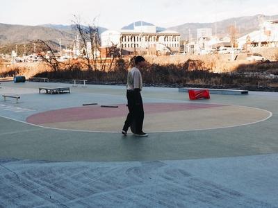 中津川スケート広場は、できてから約10年が経つのだそう