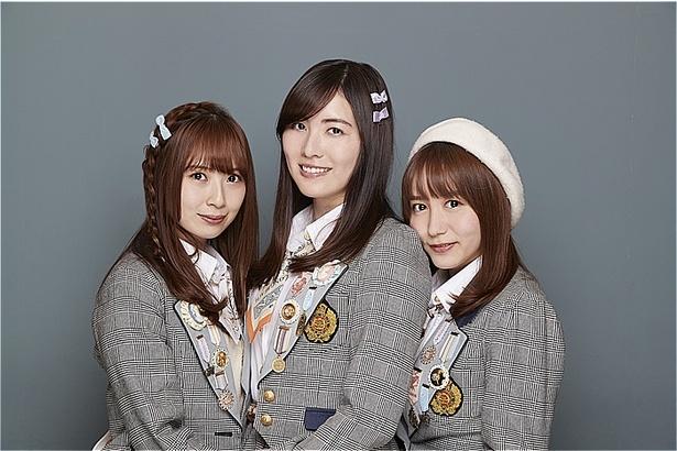 「SKE48の10年間」を語った高柳明音(左)、松井珠理奈(中)、大場美奈(右)