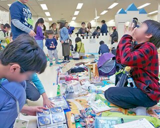 売るのも買うのも子どもだけ!イオンモール伊丹でキッズフリーマーケット開催