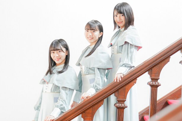 STU48の土路生優里、今村美月、田中皓子