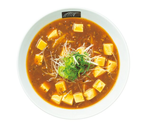 昆布・混合節ダシ×花椒(ホアジャオ)などを使った麻婆京豆腐うどん(1000円、数量限定)/UDON MAIN