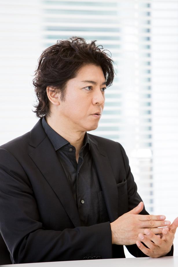 【写真を見る】3年ぶりに再演する音楽朗読劇「ヴォイサリオン」。主演、上川隆也