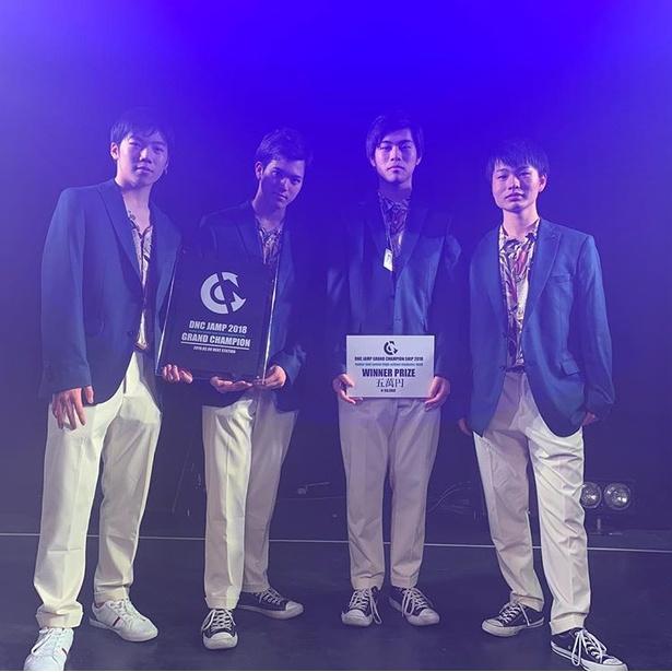 """""""九州ダンスチームの登竜門""""で優勝したPool boys"""