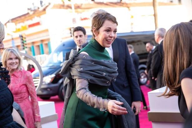 オリヴィア・コールマンがオスカーを手にした!(『女王陛下のお気に入り』)