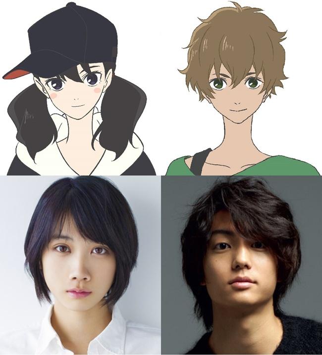 「JR SKISKI」のCMで共演した松本穂香と伊藤健太郎が声優初挑戦