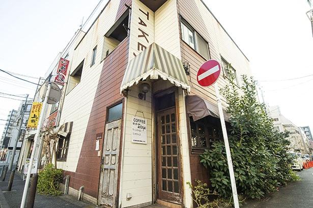 創業約35年の喫茶店の老舗