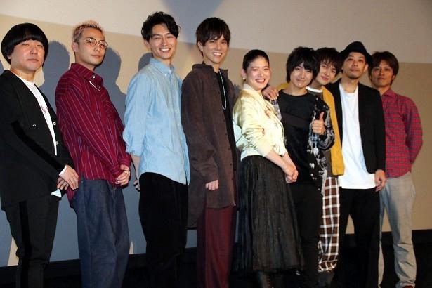 BOYS AND MEN主演の映画『ジャンクション29』の初日舞台挨拶が開催