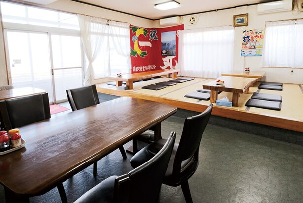 初ガツオを味わいに、県外からも人が訪れる / 鈴之家旅館