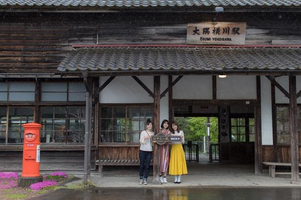 明治の風情がそのまま残る大隅横川駅