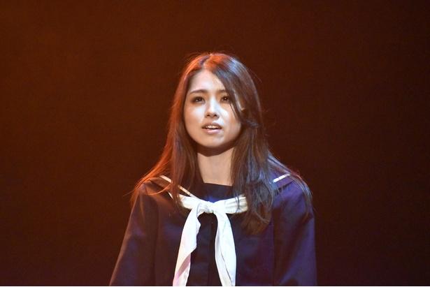 【写真を見る】岩立沙穂さん(AKB48)/舞台「山犬」ゲネプロより