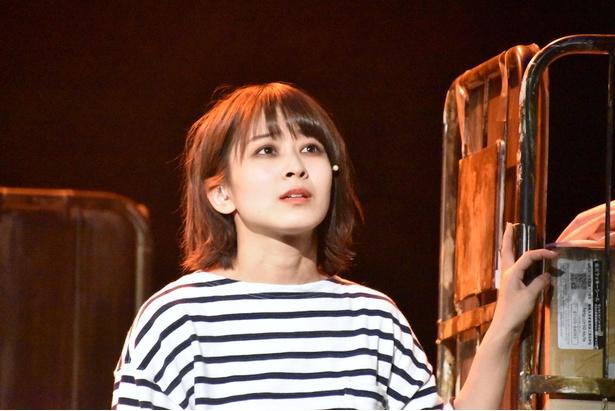 太田奈緒さん(AKB48)/舞台「山犬」ゲネプロより