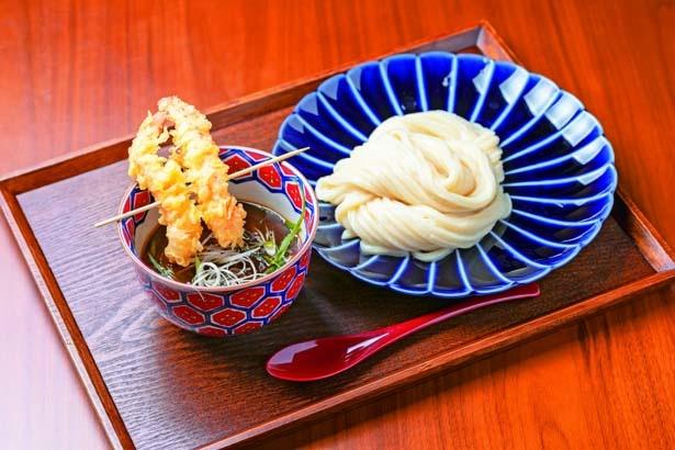 海の旨み海老カレーつけ麺(993円)/花雷 烏丸