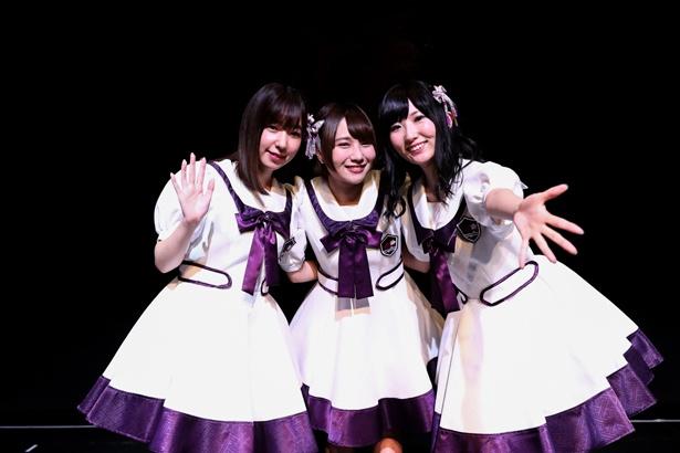「温泉むすめ」AKATSUKIの1stライブは熱狂の渦に!富田美憂、田澤茉純、岩橋由佳は早くも2ndライブ望む