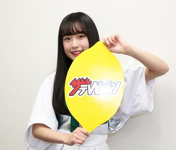 寺口夏花、18歳。今年、高校を卒業。「地方から足を運んでも惜しくないというグループになりたいです」