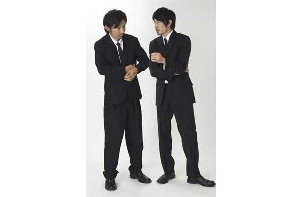 【アニメのゲスト】お笑い芸人 チョップリン 西野恭之介(右・ @choplin_nishino)、 小林幸太郎(左)