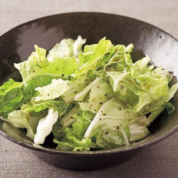 【関連レシピ】白菜の塩だれサラダ