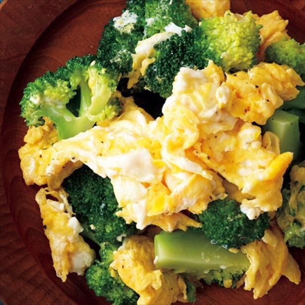 【関連レシピ】ブロッコリーと卵の塩炒め