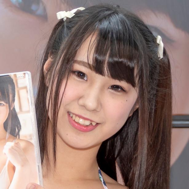 DVD発売イベントに登壇した立川愛梨