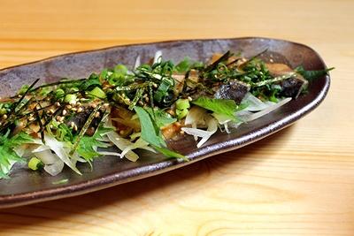 九州の郷土料理「胡麻さば(税抜 680円)」