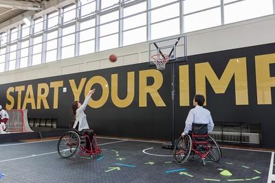 車椅子バスケットを楽しんでみては?