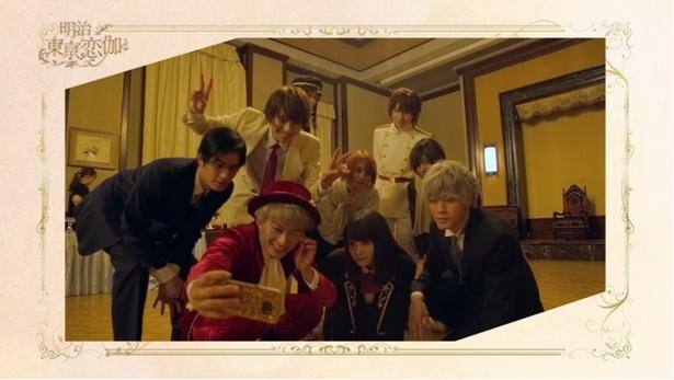 「明治東亰恋伽」は4月からドラマがスタート、映画は2019年中に公開される