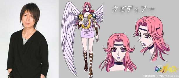 【写真を見る】神谷浩史が演じるクピディアー。天使のような姿をした美青年の自動人形だ