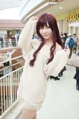 「アイドルマスター シンデレラガールズ」の一ノ瀬志希に扮したHzkrさん