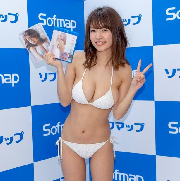 イーネット・フロンティアの作品ではコチラもオススメ!菜乃花DVD&Blu-ray「七色なのか!?」発売イベントより