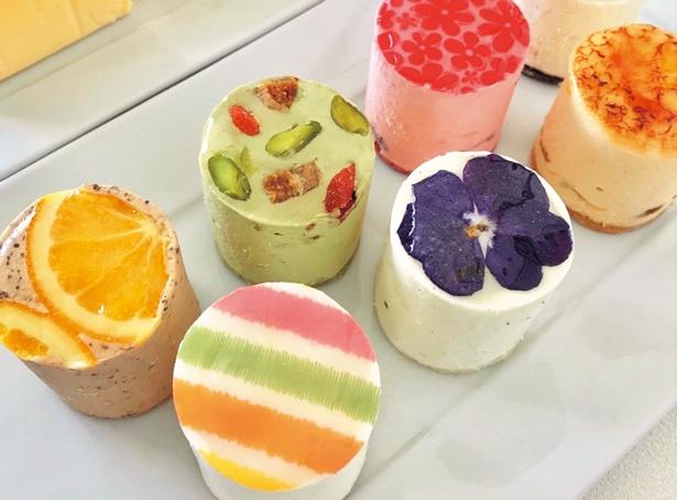【写真をみる】Scuicui各種(写真手前・1個432円から)/hi-cheese