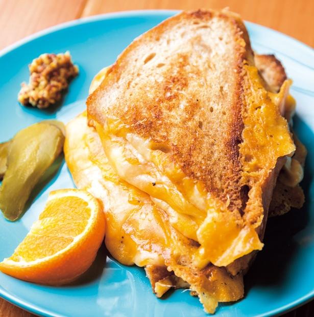 濃厚チーズ×香ばしい自家製パンのMummy Cheese(780円)/Hi! SandWich