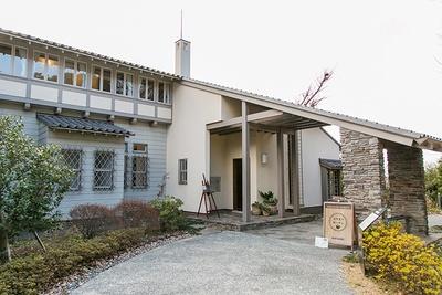 歴史的建造物、俣野邸内にある「ひだまりガーデン」