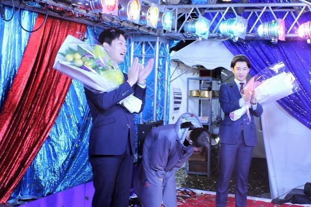 「北川景子さん、オールアップです!」の声に、深々と一礼