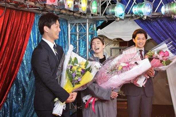 工藤阿須加と大石静のやりとりに大笑いする北川景子