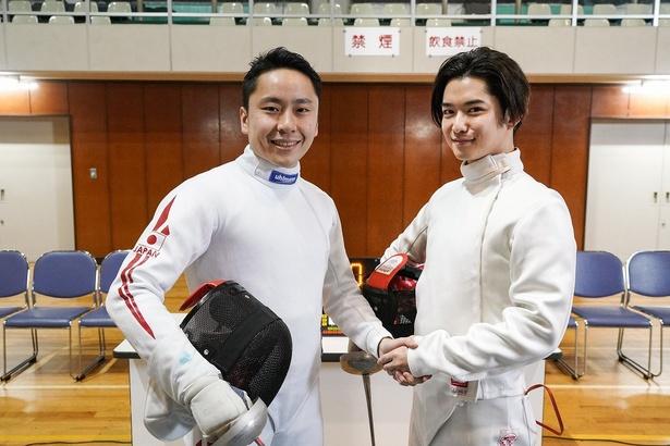 3月13日(水)放送の「家売るオンナの逆襲」最終話に太田雄貴の出演が決定。共演の千葉雄大とガッチリ握手!