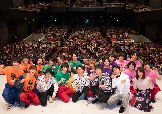 """【写真を見る】""""猫ひた""""3周年記念イベントは、イケメン俳優20人が一堂に会し、大いに盛り上がった"""