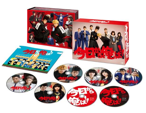 「今日から俺は!!」Blu-ray&DVD-BOXは4月24日(水)に発売